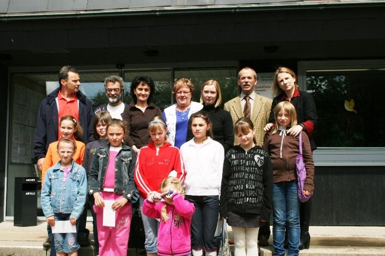 Besuch der Tschernobyl-Kinder